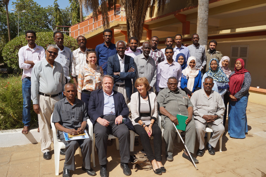 A visit by the Dutch Embassy 8 February, 2016