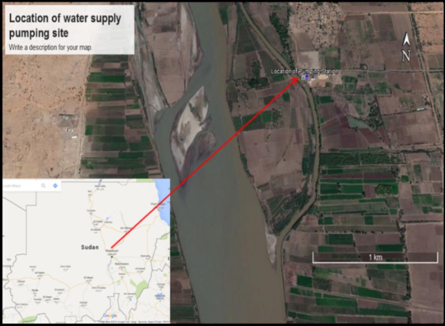 The Intake of North Bahri-El Tamaniat Pumping Station