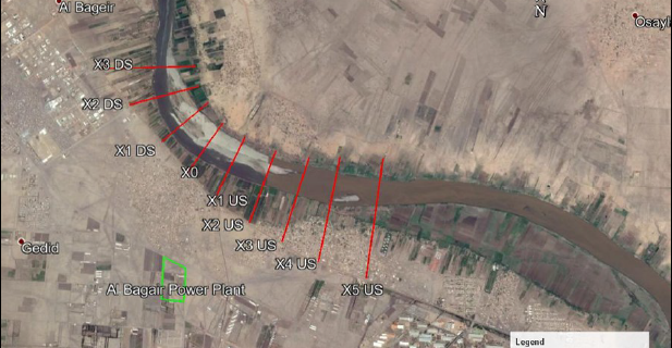 Investigation for the Suitable Location of the Water Intake of Al Bagair Thermal Power Generation Plant